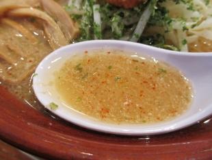 満月安田店 辛味噌ラーメン スープ