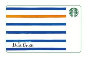 Mila Owen スターバックスカード