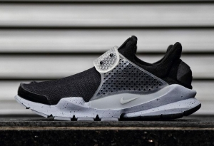 NIKE LAB FRAGMENT SOCK DART BLACK