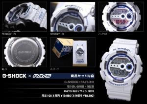 レイズ G-SHOCK GD-100