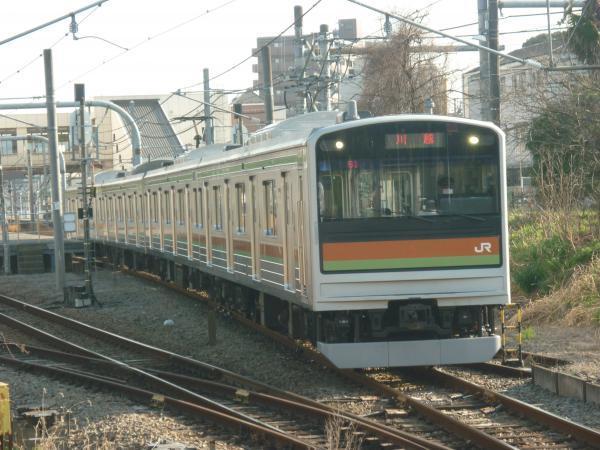 2015-03-30 八高線205系ハエ81編成 川越行き