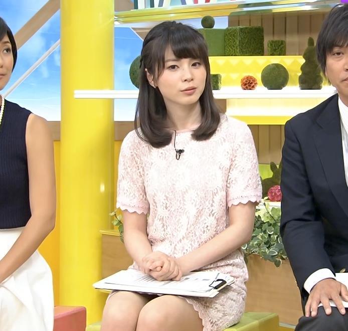 皆川玲奈 ミニスカのデルタゾーンキャプ画像(エロ・アイコラ画像)