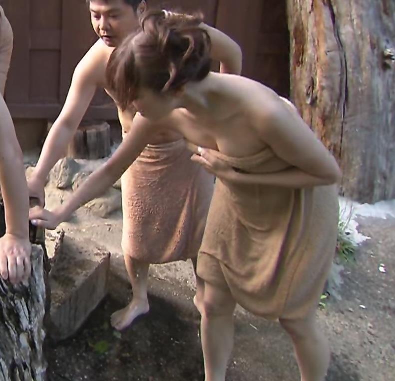 丸高愛実 入浴シーンがかなりエロいキャプ画像(エロ・アイコラ画像)