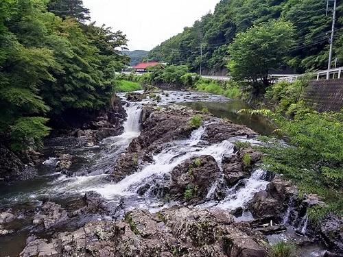 馬門の滝!①