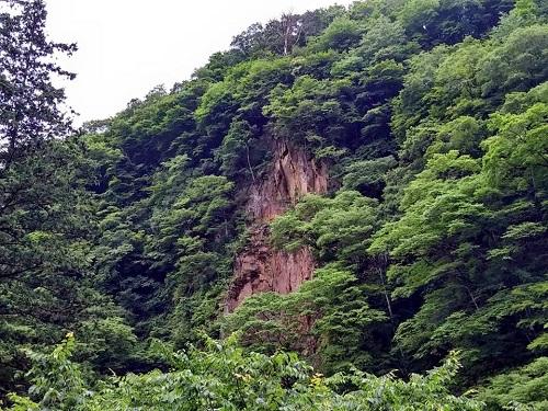 馬門の滝!②