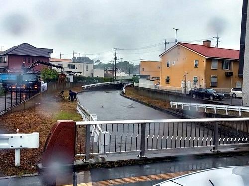 駒生川 雨情橋!