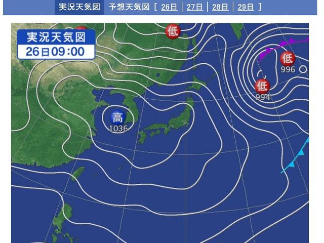 天気図-1