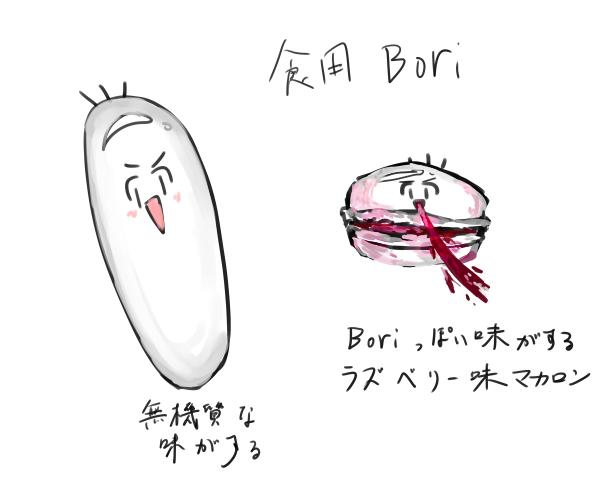 食用Bori