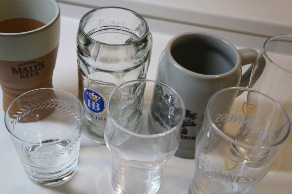 アルコール専用グラス類