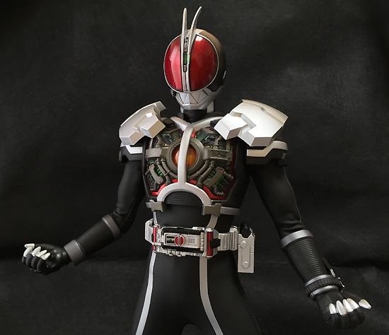 リアルアクションヒーローズ No.686 RAH DX 仮面ライダーファイズ アクセルフォーム Ver.1.5