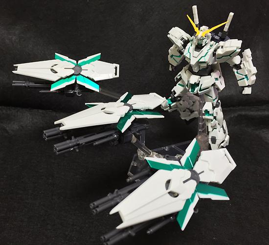 ROBOT魂 -ロボット魂-〈SIDE MS〉 ユニコーンガンダム(シールドファンネル装備)(魂ウェブ限定)