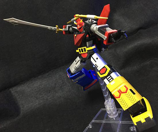 スーパーロボット超合金 宇宙大帝ゴッドシグマ ゴッドシグマ 約140mm ABS&PVC&ダイキャスト製 塗装済み可動フィギュア