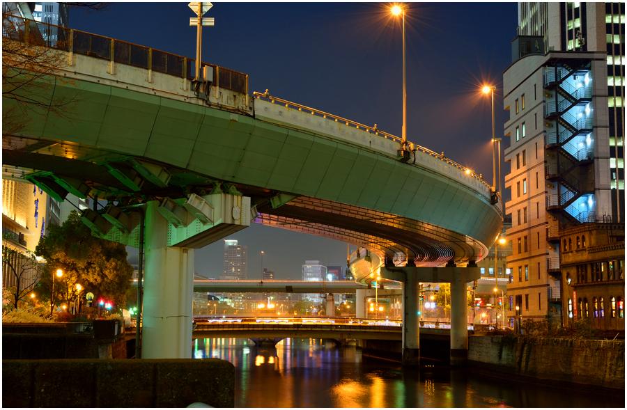 大阪夜景・助手1