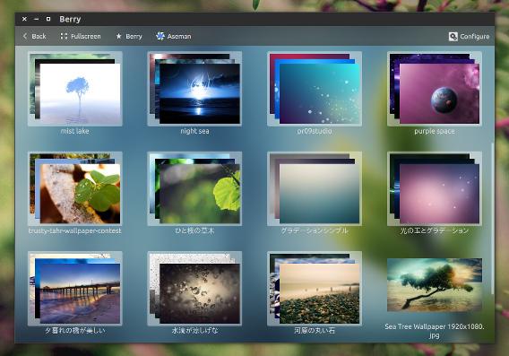 Berry Ubuntu 画像ビューア