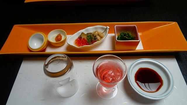 蓮台寺温泉 清流荘 食事編 (2015年2月)