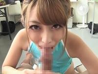 桜井あゆ 「はじめまして」の自己紹介フェラで口内射精で受け止めるエロコス美女!