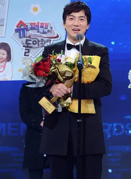 KBS芸能大賞人気賞と作家賞、プロデューサー特別賞