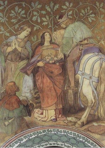 モーリッツ・フォン・シュビント 薔薇の奇跡
